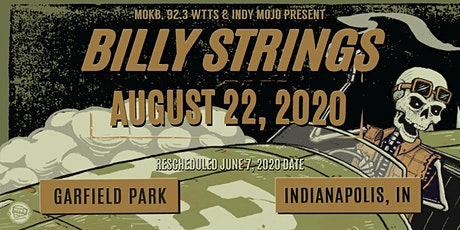RESCHEDULED: An Evening With Billy Strings @ Garfield Park tickets