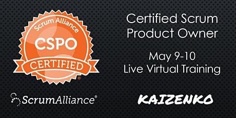 Weekend Certified Scrum Product Owner (CSPO) Virtual Training Online tickets