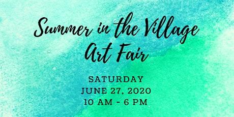 Summer in the Village Art Fair tickets