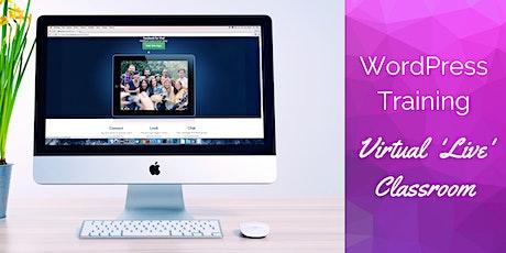 WordPress Training - Virtual Classroom biglietti