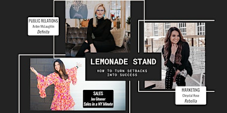 Preview The Lemonade Stand: How to Turn Setbacks into Success tickets