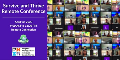 Survive and Thrive Remote Conference tickets