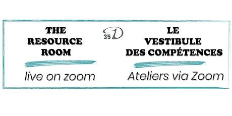 Resource Room: Mental Health for Dance Artists  - April 6 (1-2pm ET) tickets