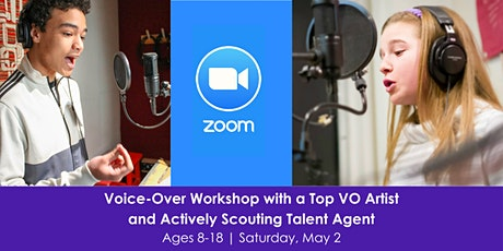 Online Voice-Over Workshop with a Top VO Artist and Scouting Talent Agent from A3 Artists tickets
