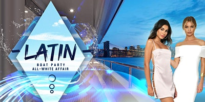 All White Latin Sunset Boat Party - Midtown Yacht