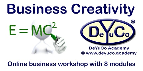 DeYuCo Academy Online Business Workshop Business Creativity Tickets