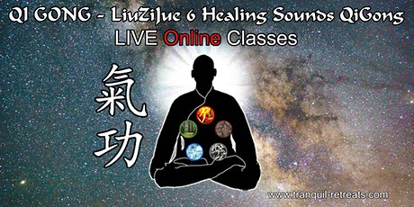 QI GONG - Online LIVE classes - LiuZiJue 6 Healing Sounds QiGong tickets