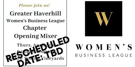 Greater Haverhill Chapter Launch - Women's Business League tickets