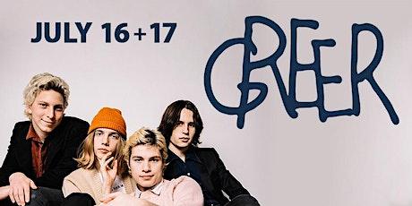 Greer----POSTPONED to July 16, 2020 tickets
