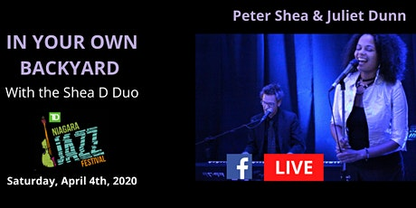 """In Your Own Backyard"" Series - featuring the Shea D Duo LIVESTREAM  tickets"