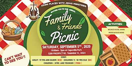 Annual Family & Friends Picnic tickets