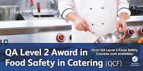 Level 2 Food Safety Training Course (online via Webinar) entradas
