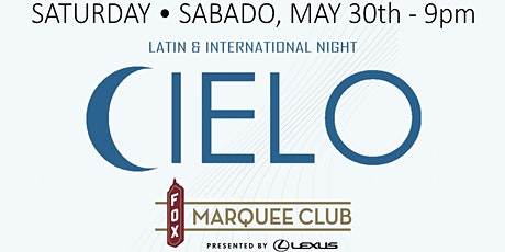 CIELO @ The Marquee Club At The Fox Theatre tickets