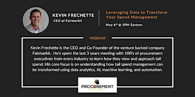 AMA – Ask Me Anything with Kevin Frechette of Fairmarkit