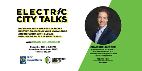 Electric  City Talks:  An Evening with Craig Kielburger and the WEconomy tickets