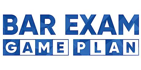 Bar Exam Game Plan™ Online Boot Camp - October 2020 tickets