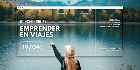 Workshop  ONLINE Emprender en viajes tickets