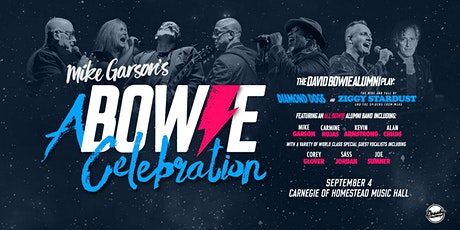 A Bowie Celebration: Bowie Alumni Play Diamond Dogs & Ziggy Stardust tickets