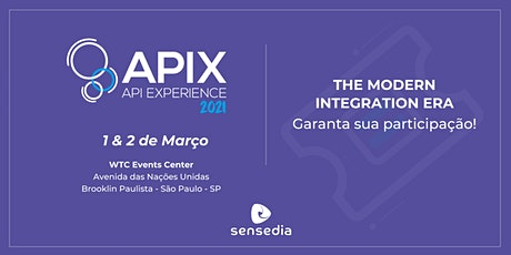 APIX - The Modern Integration Era ingressos