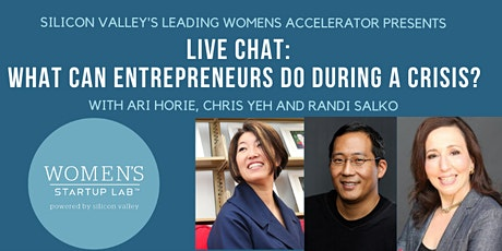Live Chat: What Can Entrepreneurs Do During A Crisis? tickets