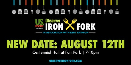 Dallas Observer Iron Fork Presented by US Foods tickets