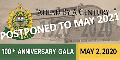Granite Curling Club 100th Anniversary Gala tickets