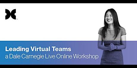Leading Virtual Teams: Live Online Workshop tickets