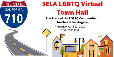 SELA LGBTQ Virtual Town Hall tickets