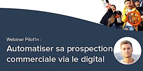 Webinar Pilot'in: automatiser sa prospection avec le marketing automation billets