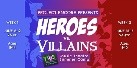 Project Encore Music Theatre Summer Camp 2020 - WEEK 1 tickets