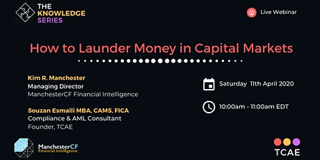 How to Launder Money in Capital Markets tickets