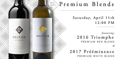 PELTIER WINERY Virtual Tasting With the Winemaker - Premium Wine Blends tickets