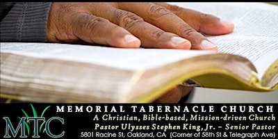 Conversational Bible Study with the Pastor (Tuesda