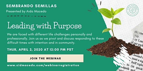 Leading with Purpose Webinar tickets