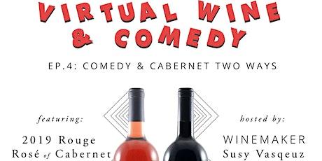 PELTIER WINERY Cabernet 2 Ways - Virtual Tasting Rouge Rosé & Cabernet Sauv tickets