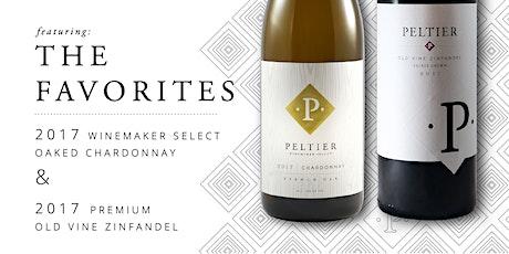 PELTIER WINERY - THE FAVORITES Virtual Tasting Chardonnay & Old Vine Zin tickets