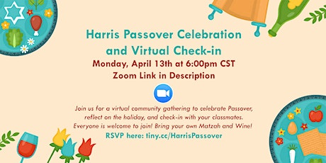 Harris Passover Celebration + Community Check-In tickets