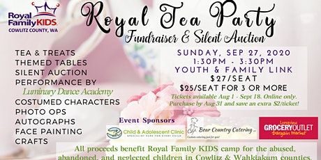 Royal Tea Party - Silent Auction and Fundraiser 2020 tickets