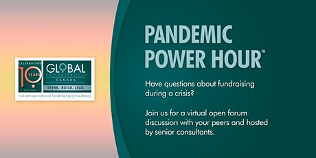 Pandemic Power Hour™ hosted by Global Philanthropic Canada tickets