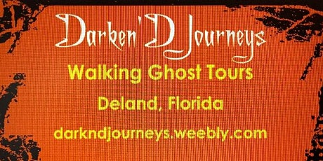 Historic Downtown DeLand Ghost Tour tickets