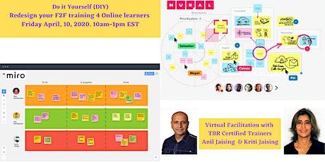 Design It Yourself (DIY) Virtual Training Workshop tickets