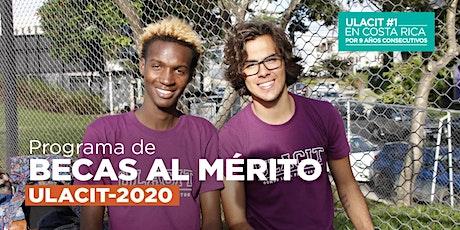 #BECASULACIT PRESENTACIÓN DE BECAS AL MÉRITO tickets