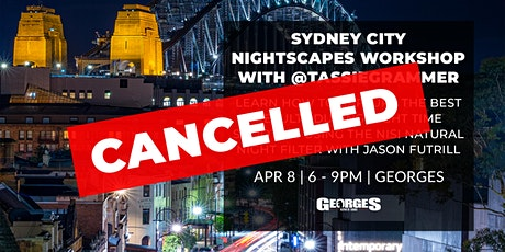Sydney City Nightscapes Workshop with Jason Futrill (@tassiegrammer) tickets