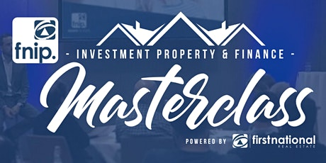 Investment Property & Finance Masterclass (Webinar) tickets