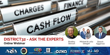 District32 Ask the Experts - Cash Flow and Finance - Thu 16th Apr tickets