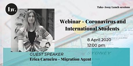 Webinar - Coronavirus and its impact on International Students tickets