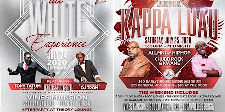"LDAC KAPPA LUAU WEEKEND 2020 - ""A WEEKEND OF EXCELLENCE"" tickets"