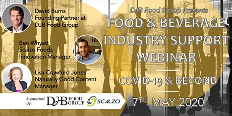 Food & Beverage Industry Support Webinar : COVID-19 & Beyond tickets