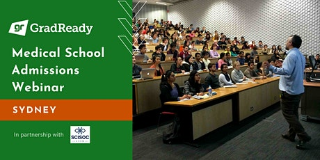 2020 Medical School Admissions Webinar (Sydney) | GradReady tickets