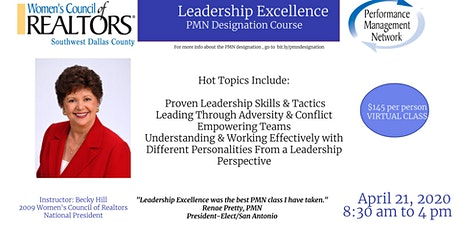 Mission IMpossible: PMN - Leadership Excellence Course tickets